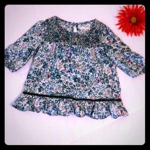 Flowered girls 5T shirt